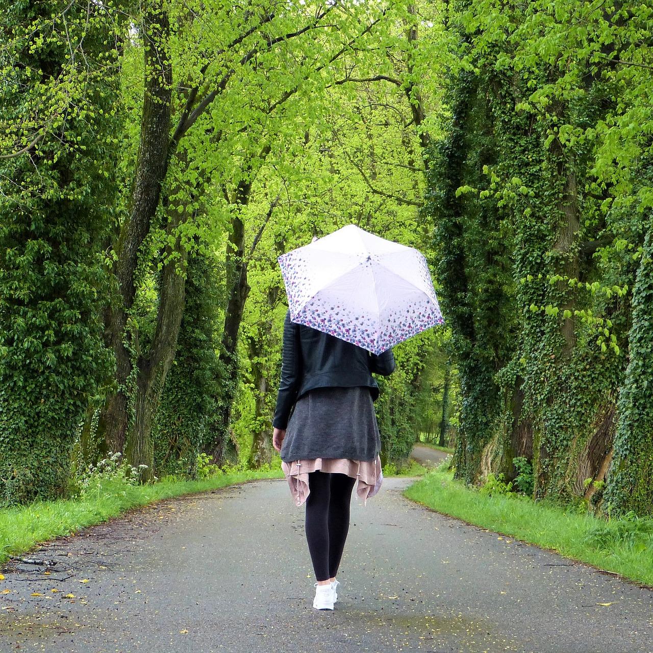 Ładny stojak na parasole