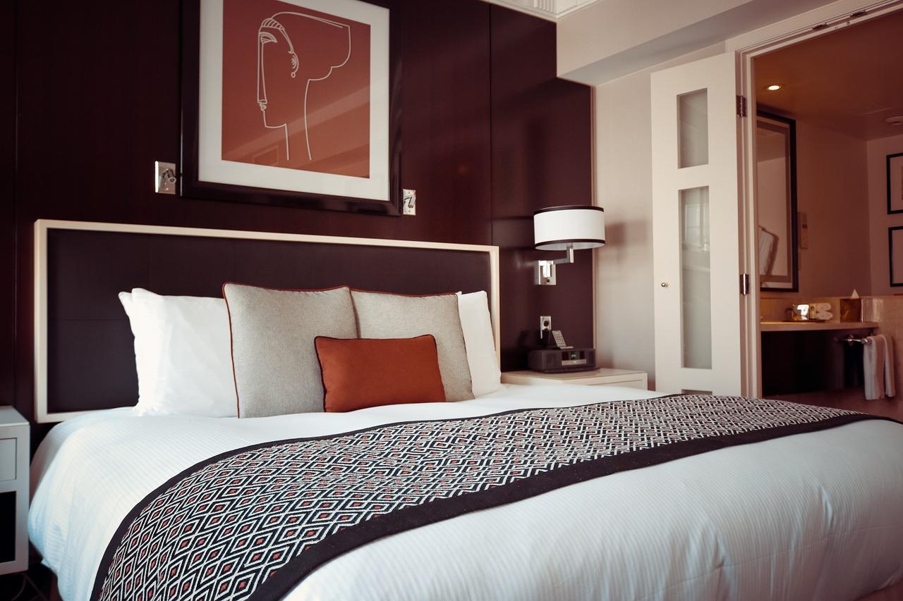 Luksusowa sypialnia.