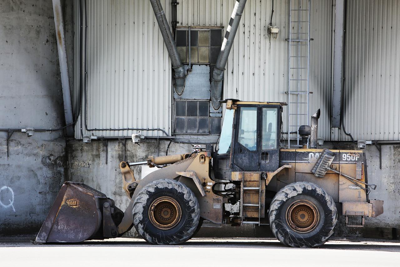 Maszyny budowlane – serwisowanie i naprawa
